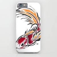 iPhone & iPod Case featuring KOI  by Hurtin Albertan