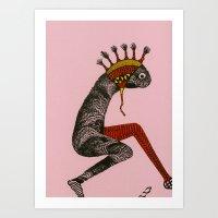 creature Art Print
