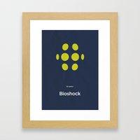 2K Games' Bioshock Framed Art Print