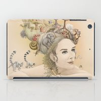 Animal princess iPad Case