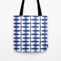 Indigo Stripe Tote Bag