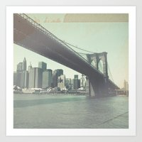 Find Me in New York Art Print
