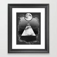 Upper Mind Framed Art Print