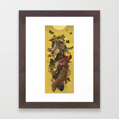 Fox Confessor Framed Art Print