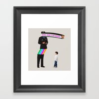 Kids. Don't Do Drugs Framed Art Print