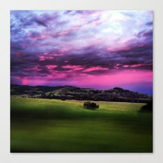 Aussie Sunset Canvas Print