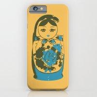 matryoshka dolls iPhone 6 Slim Case