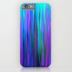 Purple And Blue Water Ab… iPhone 6 Slim Case