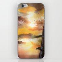 Calling The Sun XVII iPhone & iPod Skin