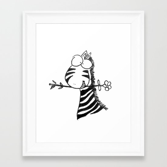 Ooh La La Framed Art Print