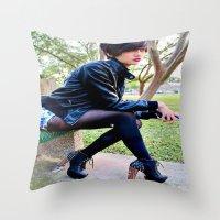 Fashion Pic Throw Pillow