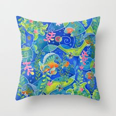 Undersea World Throw Pillow