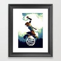 Avatar Korra II Framed Art Print