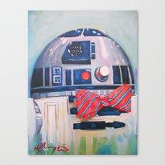 Bow2-Tie2 Canvas Print