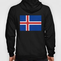 National flag of Iceland - Authentic Hoody