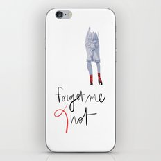 Forget me (K)not iPhone & iPod Skin