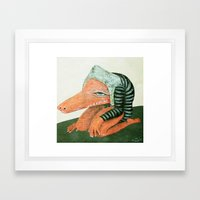 Crococo Framed Art Print