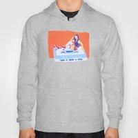 80's Girl Roller Skater … Hoody