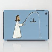 Jesus Fish iPad Case