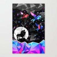 Magical Pegasus Canvas Print