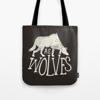 As Wolves Tote Bag