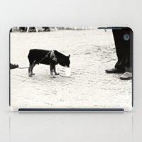 Dog on the street iPad Case