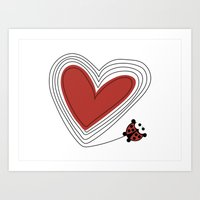 A Love Yo-yo Art Print