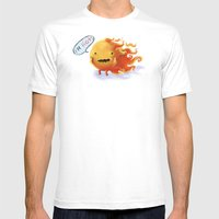 I'm HOT!!!! Mens Fitted Tee White SMALL