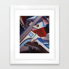 Structure Framed Art Print