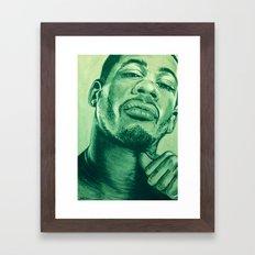 didier morville alternative green! Framed Art Print