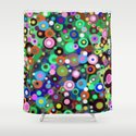 In Circles Shower Curtain