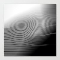 Metal. Wave. Canvas Print