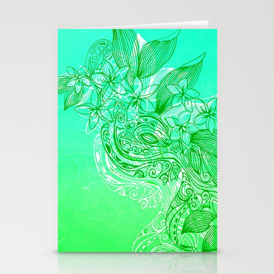 Water Dance Stationery Card