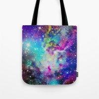 Fox Nebula Tote Bag