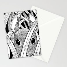 Bunny in the Grass Stationery Cards