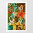 Faith Love & Hope Art Print