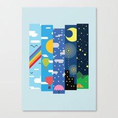 Skies Canvas Print