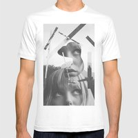 She Left Pieces Of Her L… Mens Fitted Tee White SMALL