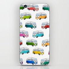 Microbus Pattern iPhone & iPod Skin