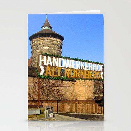 Handwerkerhof Alt Nurmeberg Stationery Card