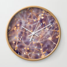 Summer Plant Wall Clock