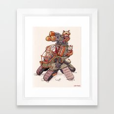 The Super Laser Net Launcher Framed Art Print