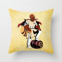 Captain Ackbar Throw Pillow