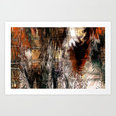 Feathered Expressions Art Print