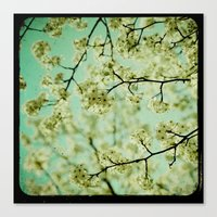 Welcome New Day Canvas Print
