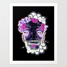 Lift Your Head To Die Art Print
