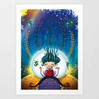 Under The Sea Art Print
