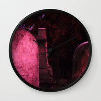 Sunset Stones (version 1) Wall Clock