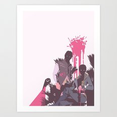 you had never seen  Art Print