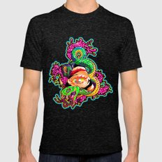 SnakeEyes Mens Fitted Tee Tri-Black SMALL
